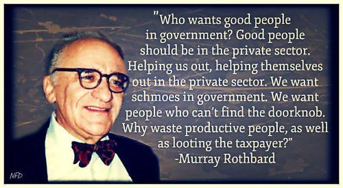 Who wants good people in government