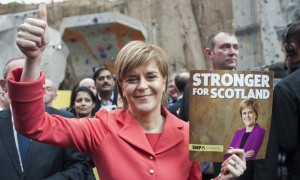 Scotland's pro-independence First Minist