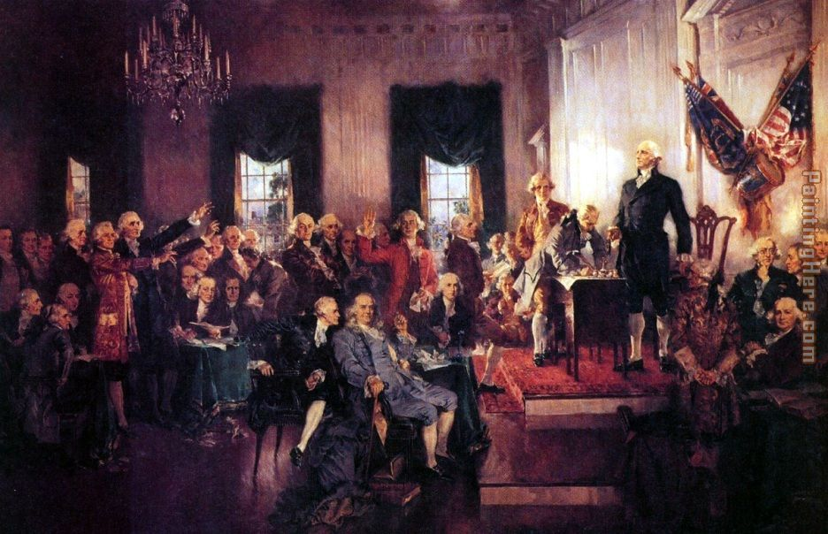 Sept. 17, 1787, the Constitution of the United States of America was signed.
