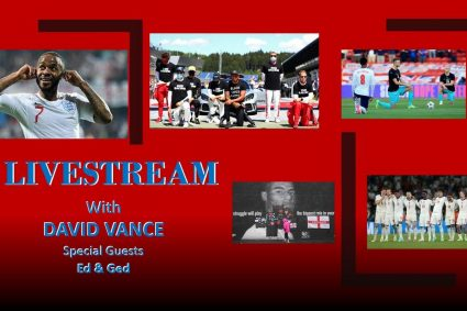 """David Vance Live """"Giving race hustling in Sport the Red Card"""""""