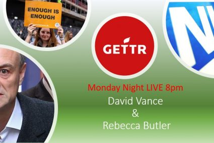 Monday Night Live with David Vance and Rebecca Butler