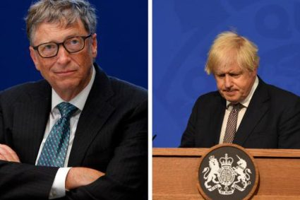 David Vance Podcast When Bill Gates comes to dinner at Downing Street!
