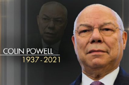 David Vance Podcast Colin Powell dead – but double jabbed.