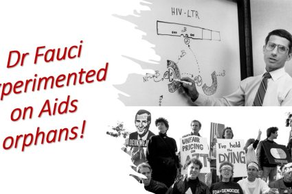 David Vance Podcast Fauci experimented on Aids orphans.